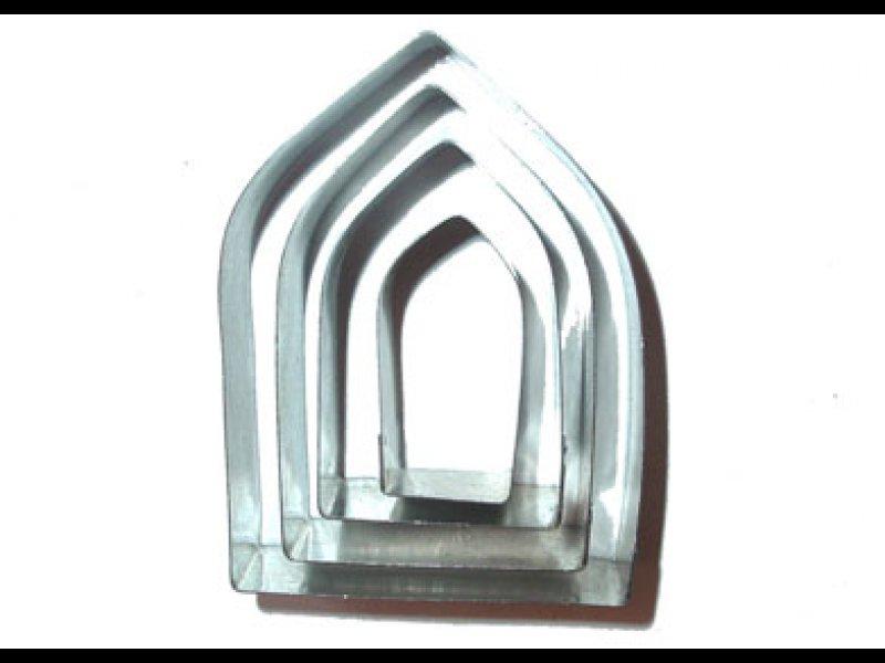 Puertas y Ventanas Góticas (Grande: 4.5 x 6cm - Chica: 1.5 x 3cm)