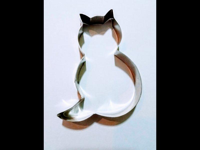 Gato para Galletitas- 7 x 9 cm.