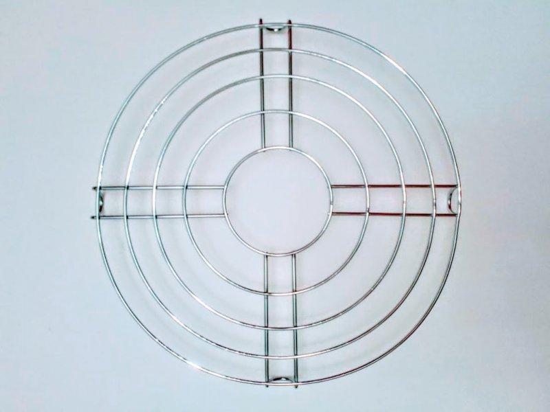 Rejilla redonda de 30 cm y 5 alambres